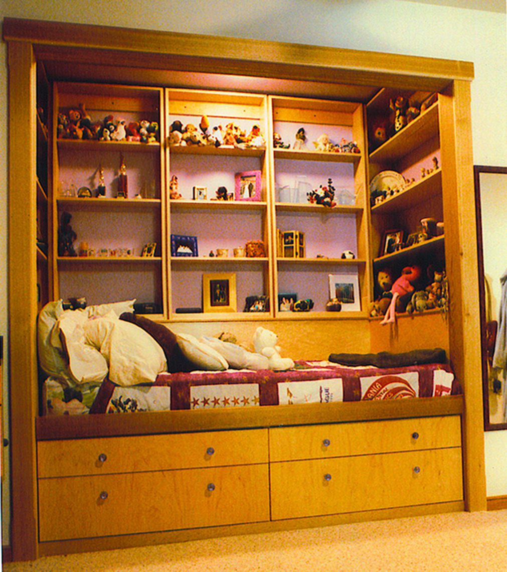 Custom Bedroom Dresser day bed bedroom  Storage