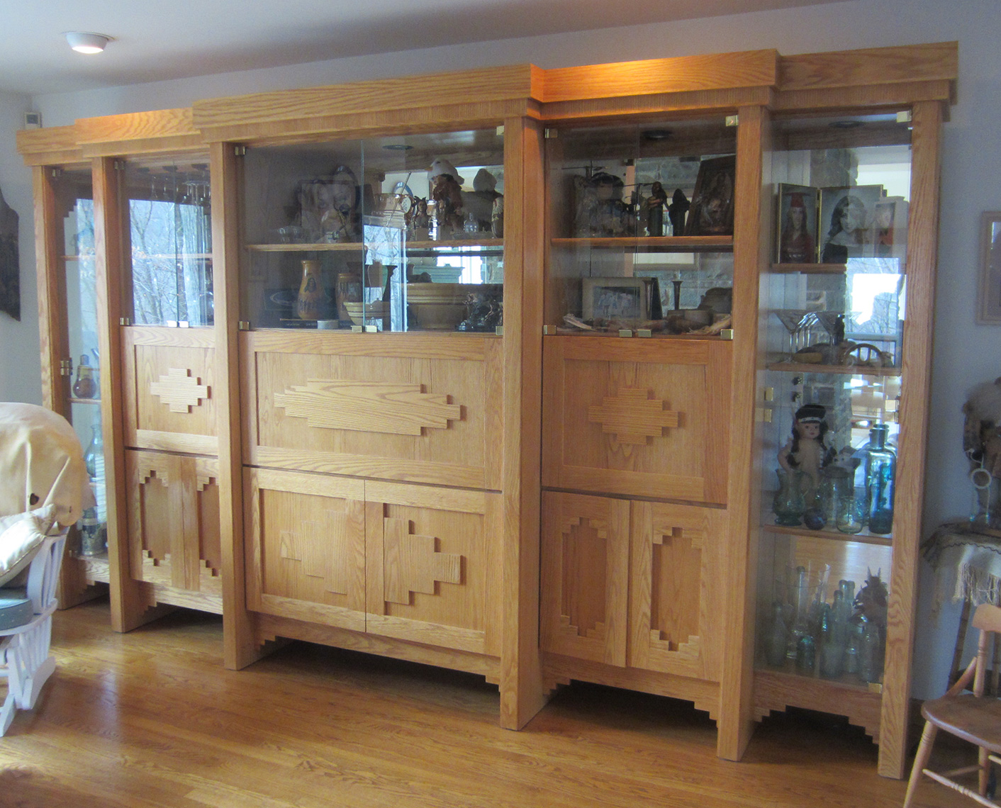 Custom-Display-Cabinet-Southwest-Style