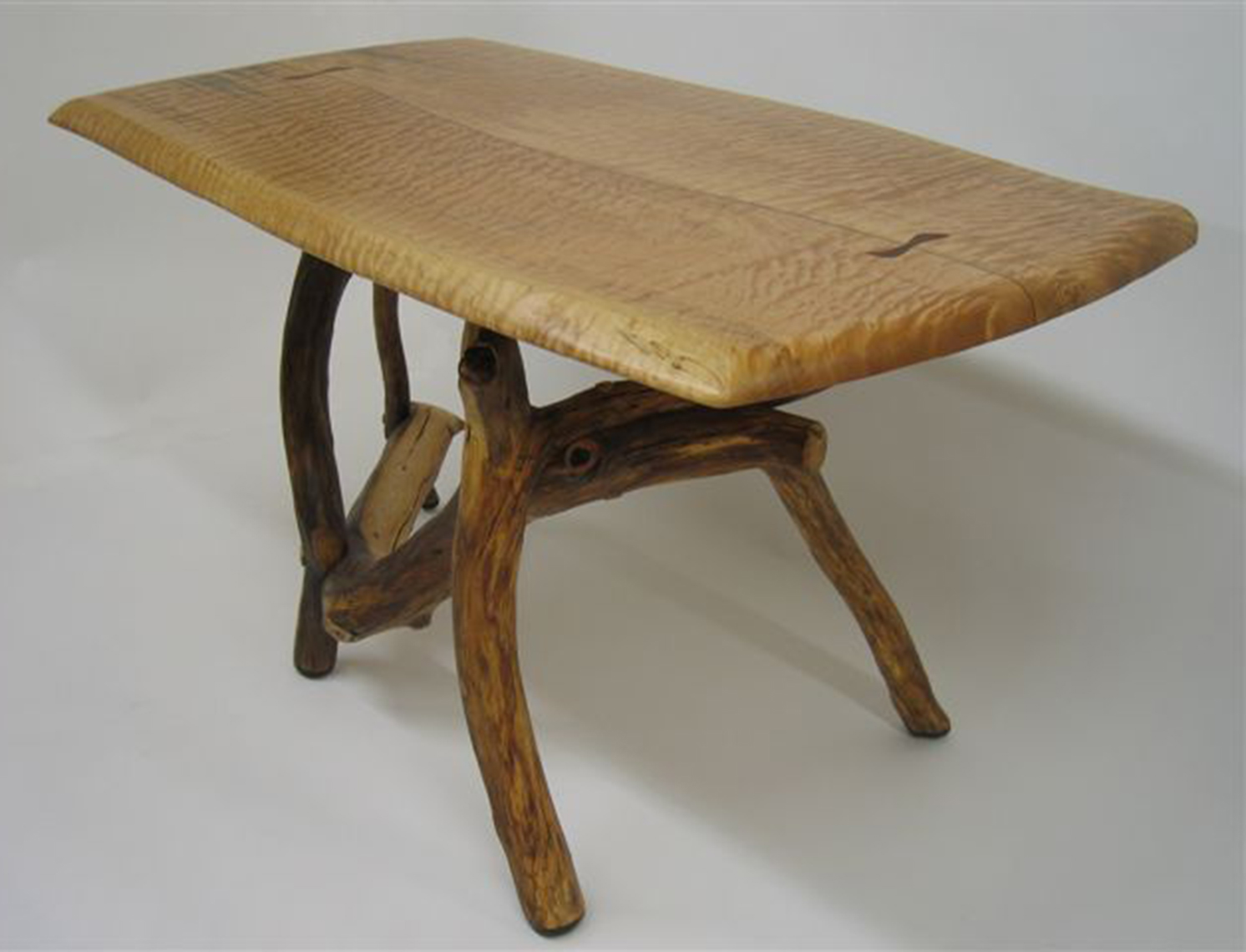 new jersey custom wood furniture-Custom wood working, custom Furniture, artistic-Rustic-Style-Desk-1