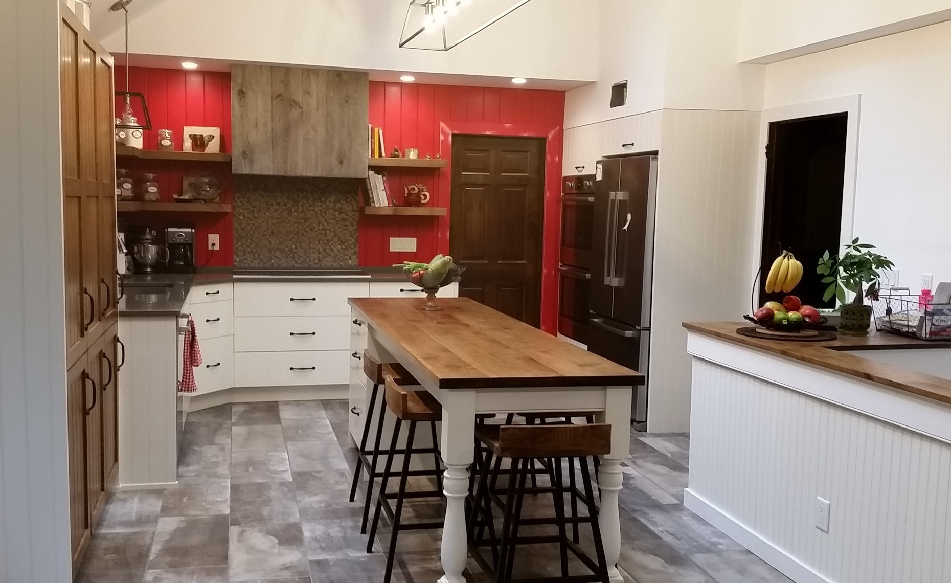custom kitchen cabinets- mercer county, nj-by birdie miller-country style