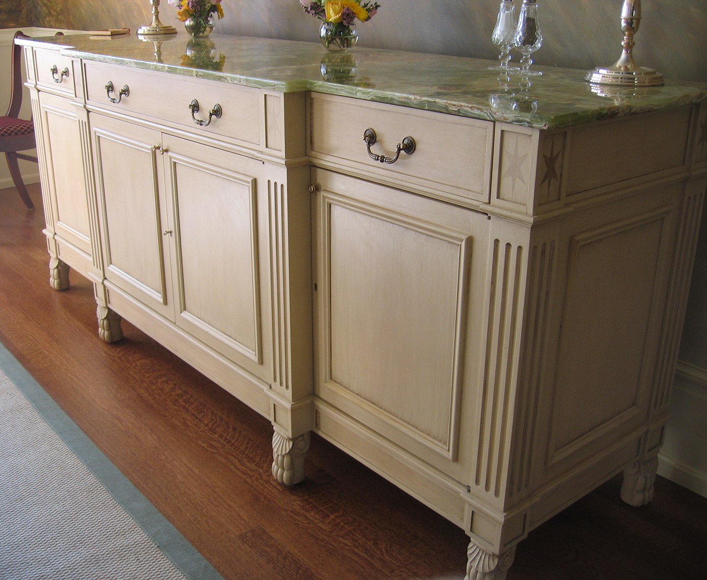 Dinning room Buffet-Traditional Custom Woodworking