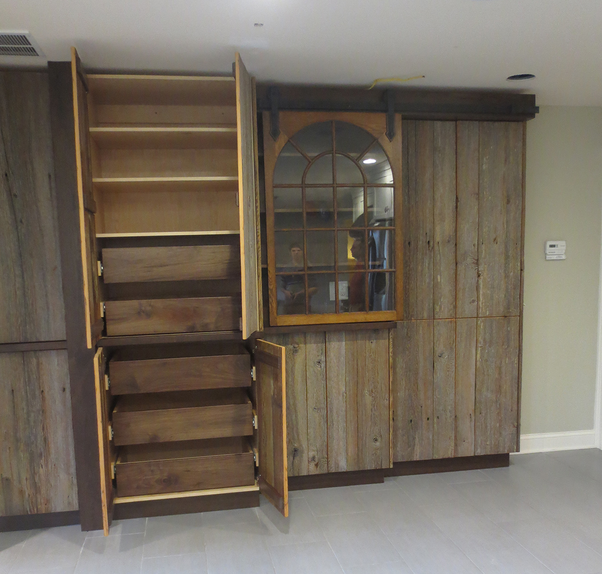 custom cabinets Morris County, NJ-Rustic pantry cabinet, kitchen cabinets rustic 1.jp3