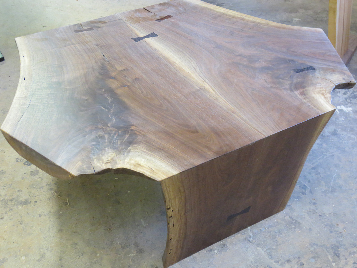 walnut live edge, natural edge free form edge, rustic  coffee table, rustic 2